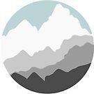 Berge. von maddy-drye