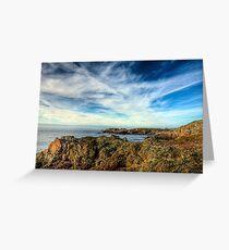 Looking towards Bibette Head - Alderney Greeting Card