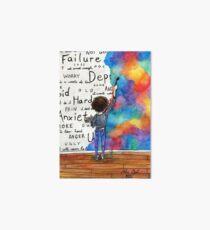 Kämpfen Sie immer wieder Aquarell (2015) REVAMP Galeriedruck