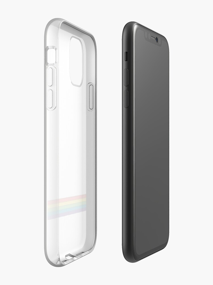 Coque iPhone « Drapeau Lgbt », par ProfMeru
