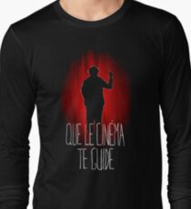 UM15 - QUE LE CINEMA TE GUIDE Long Sleeve T-Shirt