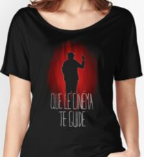 UM15 - QUE LE CINEMA TE GUIDE Women's Relaxed Fit T-Shirt