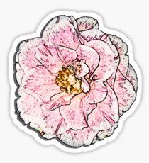 Camellia T Sticker