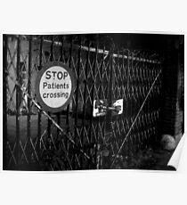 Patients Crossing ~ West Park Asylum Poster
