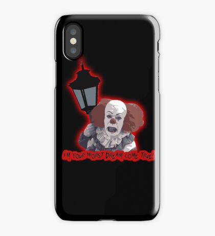 Pennywise - Worst Dream iPhone Case/Skin
