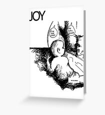 Joy - Minutemen Greeting Card