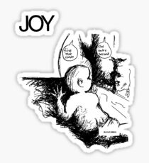 Joy - Minutemen Sticker