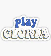 Play Gloria Sticker