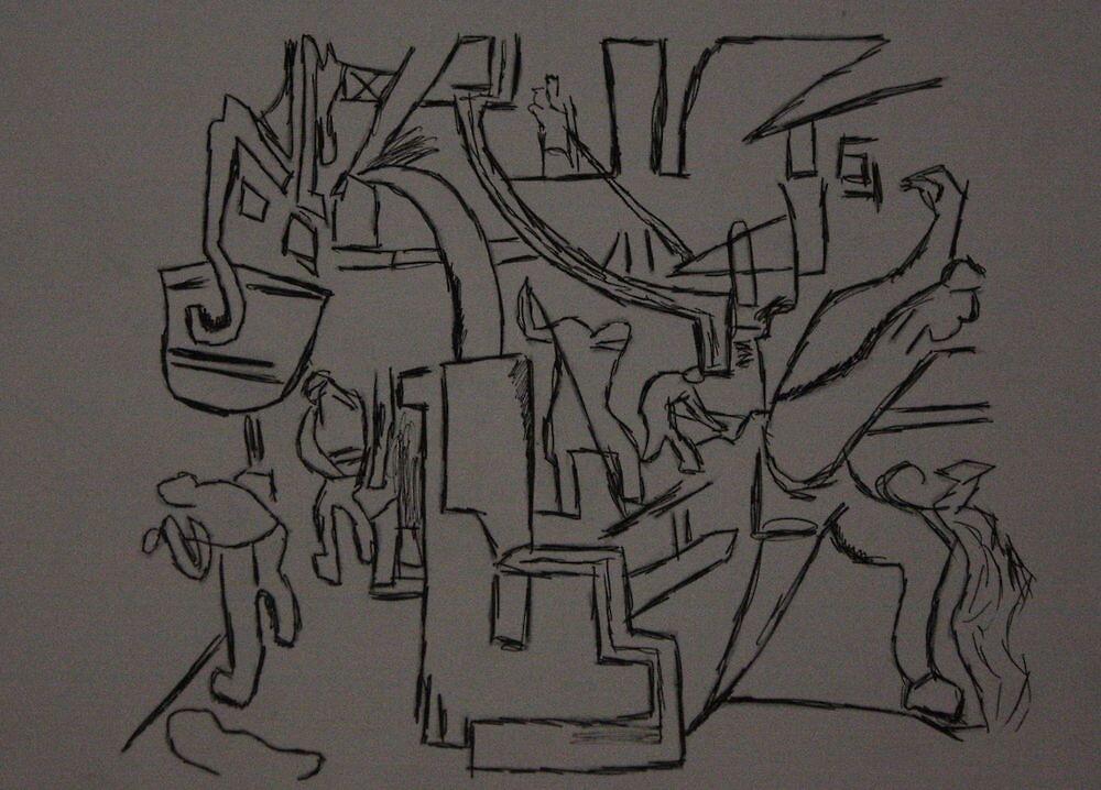Men at Work (V2) by C Rodriguez