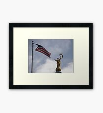 Liberty and Justice Framed Print