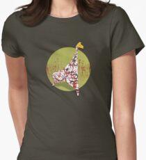 Giraffe Women's Fitted T-Shirt