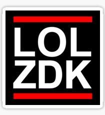 LOL ZDK Sticker
