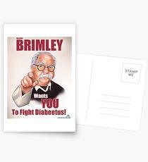 Wilford Brimley Propaganda poster Postcards