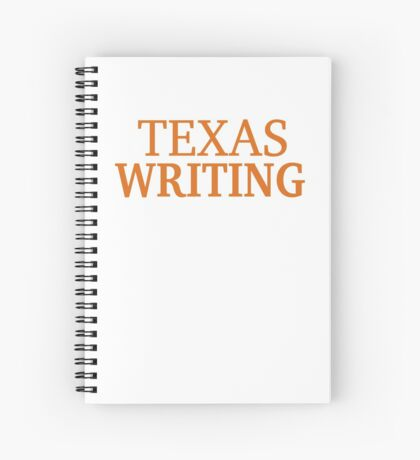 Texas Writing Spiral Notebook