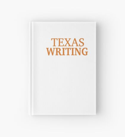 Texas Writing Hardcover Journal