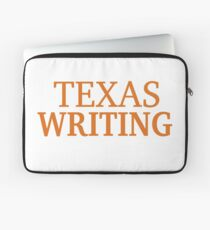 Texas Writing Laptop Sleeve