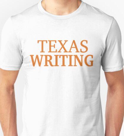 Texas Writing T-Shirt