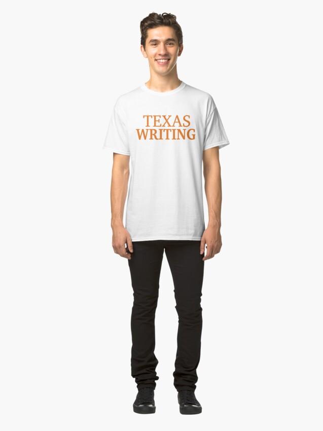 Alternate view of Texas Writing Classic T-Shirt
