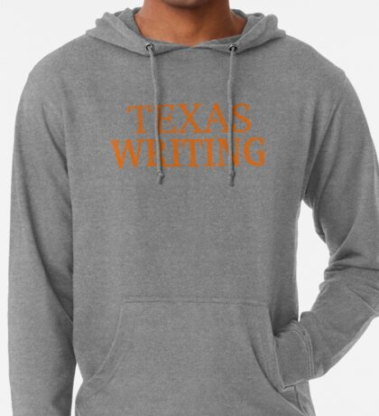 Texas Writing Lightweight Hoodie