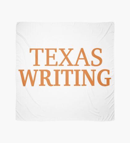 Texas Writing Scarf