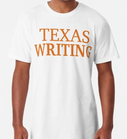 Texas Writing Long T-Shirt