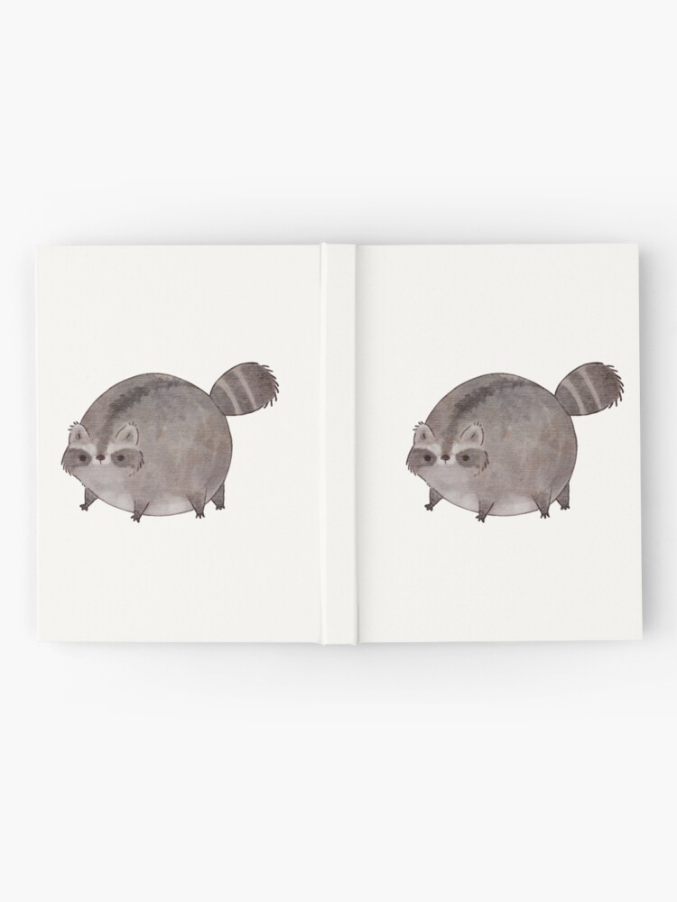 Alternate view of Chubby Trash Panda Hardcover Journal