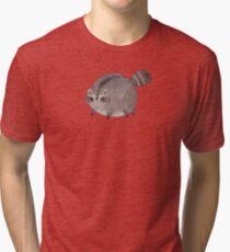 Chubby Trash Panda Tri-blend T-Shirt