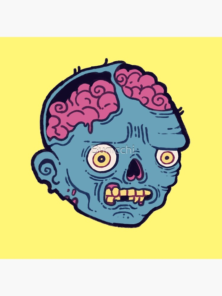 Zombie Brains - I bite by Bumcchi