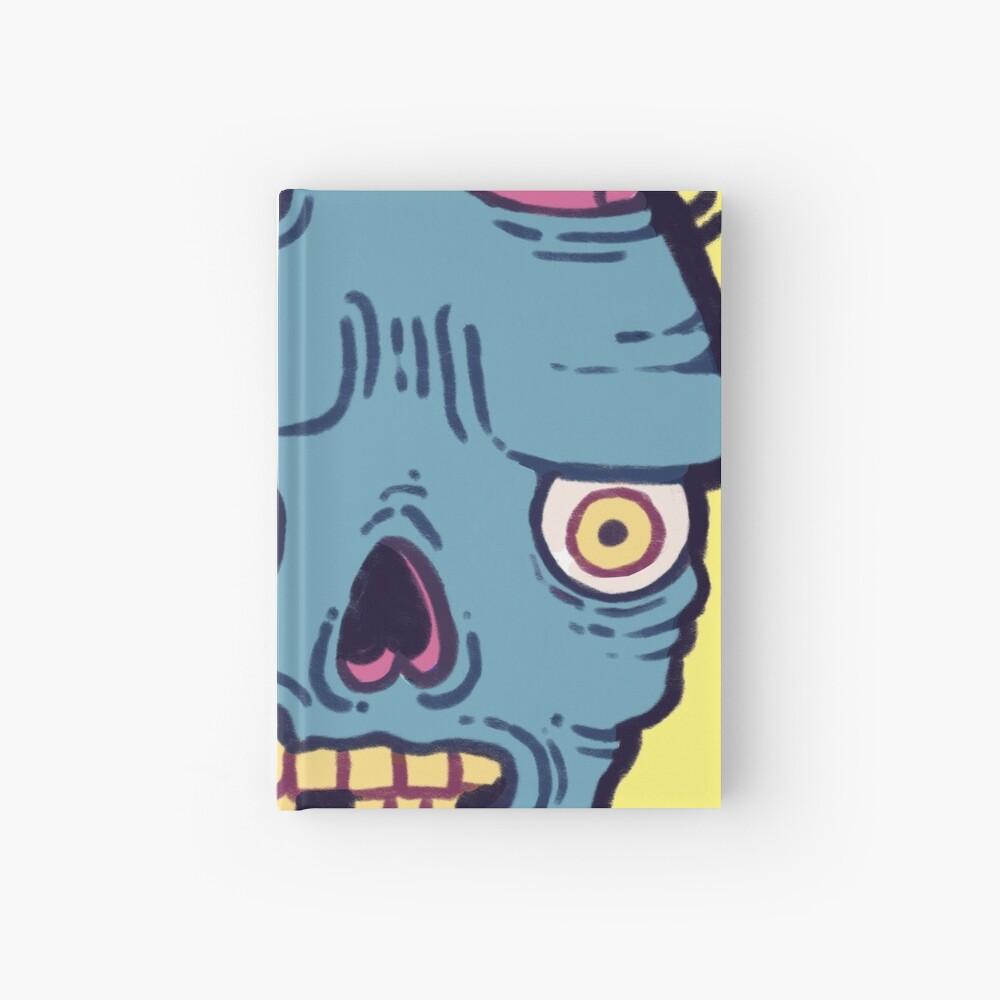 Zombie Brains - I bite Hardcover Journal