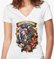 Tattoos for Life Women's Fitted V-Neck T-Shirt