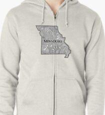 Missouri State Doodle Kapuzenjacke