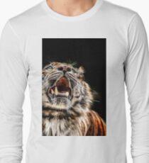 Tiger Tiger Burning Bright Long Sleeve T-Shirt