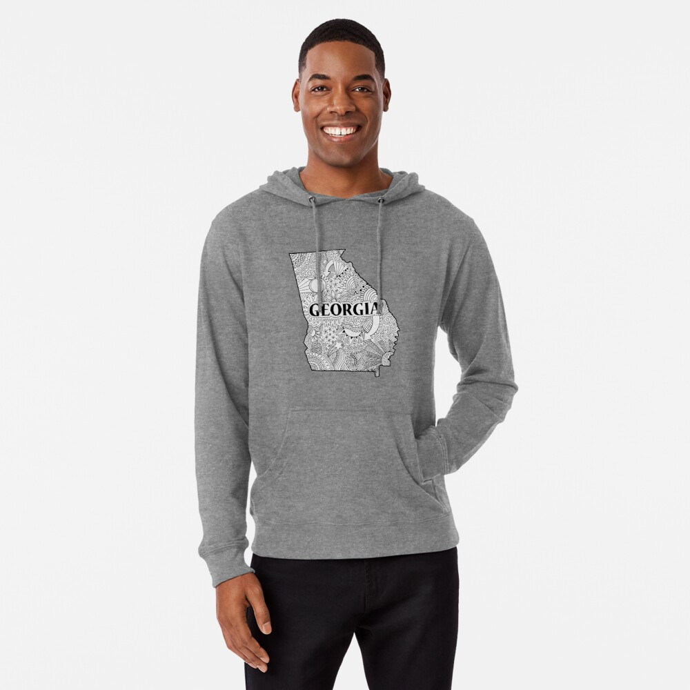 Georgia State Doodle Leichter Hoodie