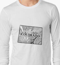 Colorado State Doodle Langarmshirt