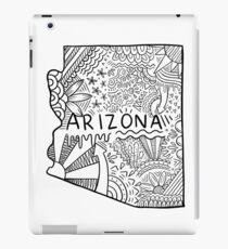 Arizona State Doodle iPad-Hülle & Klebefolie