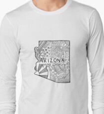 Arizona State Doodle Langarmshirt