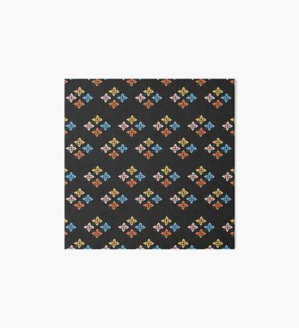 Las Flores 02 (Patterns Please) Art Board Print
