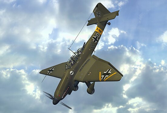 Quot Junkers Ju 87 Stuka Quot Poster By Skyviper Redbubble