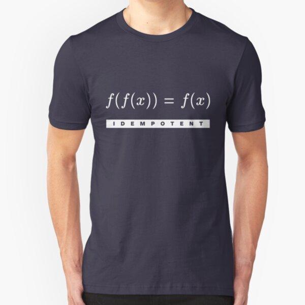 Idempotent Function Slim Fit T-Shirt