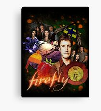 Firefly Cast Collage Canvas Print
