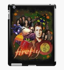 Firefly Cast Collage iPad Case/Skin