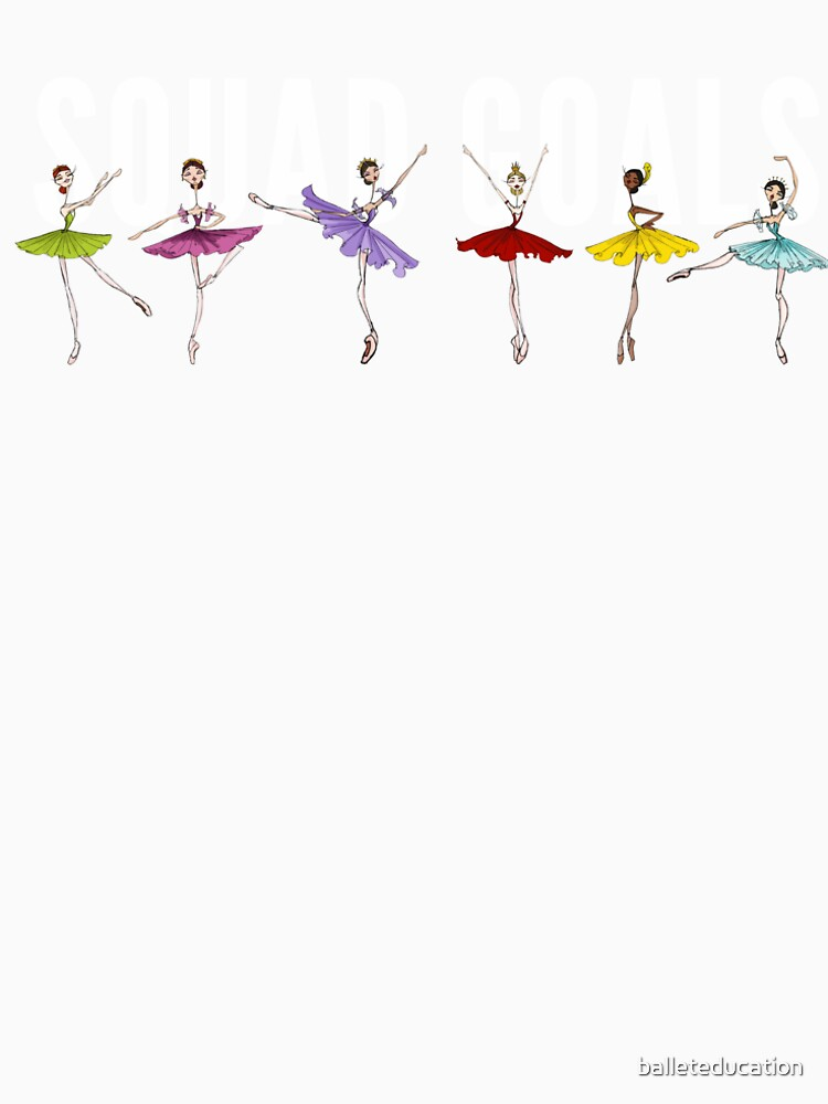 Squad Goals: Sleeping Beauty Fairies by balleteducation