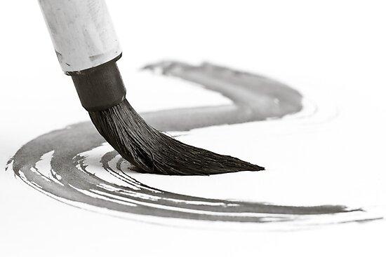 Sumi-e Brush 2 by Edward Myers
