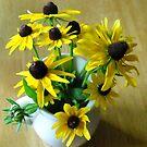Bouquet of Black-Eyed Susans by debbiedoda
