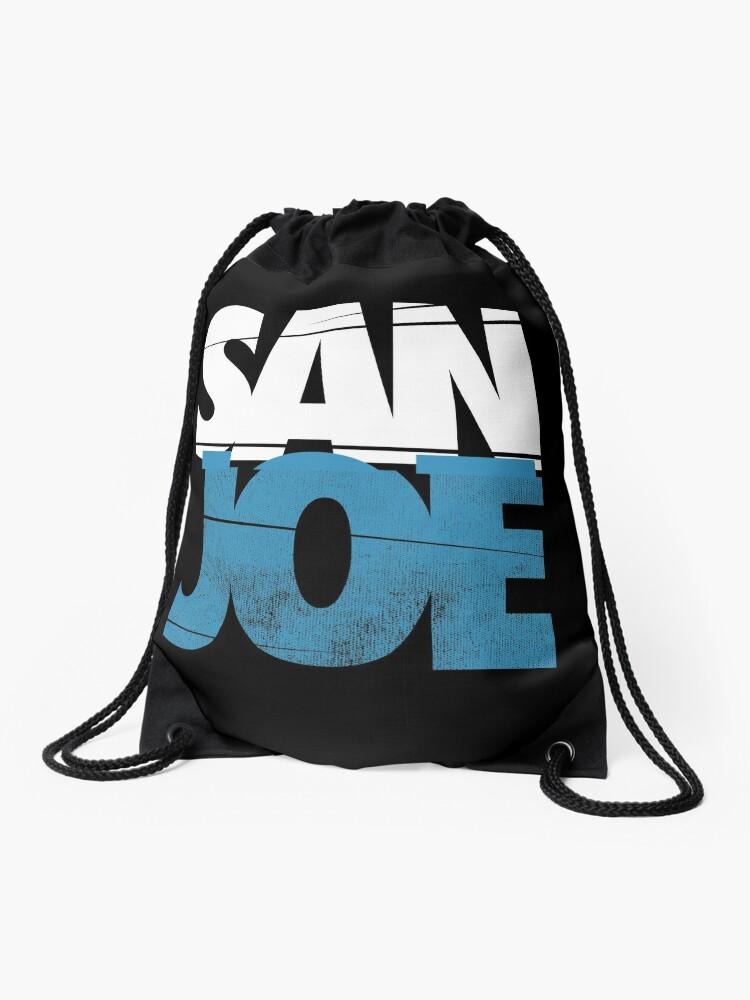 buy popular da809 59a11 SAN JOE SHIRT SAN JOSE SHARKS SJ SHARKS CITY 408 SAN JOSE Joe Pavelski FAN  ART & MERCH   Drawstring Bag