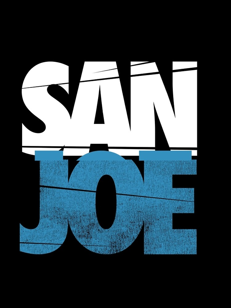 SAN JOE SHIRT SAN JOSE SHARKS SJ SHARKS STADT 408 SAN JOSE Joe Pavelski FAN ART & MERCH von robtaf