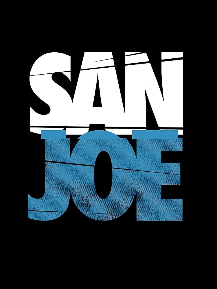 SAN JOE SHIRT SAN JOSE SHARKS SJ SHARKS STADT 408 SAN JOSE Joe Pavelski FAN ART & MERCH von robtaf