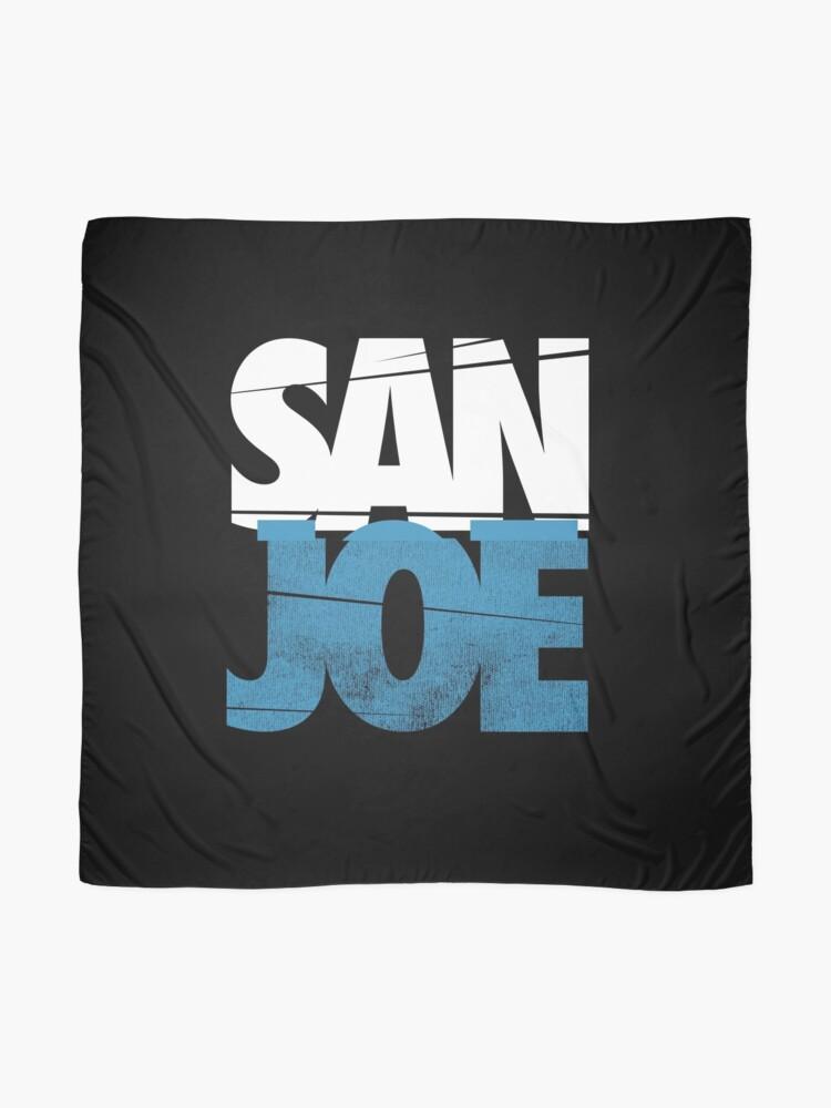 Alternative Ansicht von SAN JOE SHIRT SAN JOSE SHARKS SJ SHARKS STADT 408 SAN JOSE Joe Pavelski FAN ART & MERCH Tuch