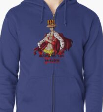 King of the Pirates Zipped Hoodie