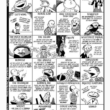 The 24 Types of Libertarian by barrydeutsch